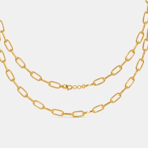 The Modish Yellow Gold Chain