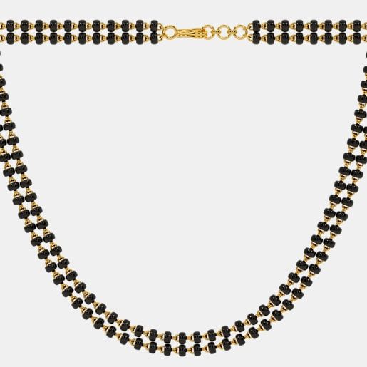 The Mangalsutra Double Line Full Chain