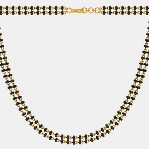 The Microbead Mangalsutra Double Line Full Chain